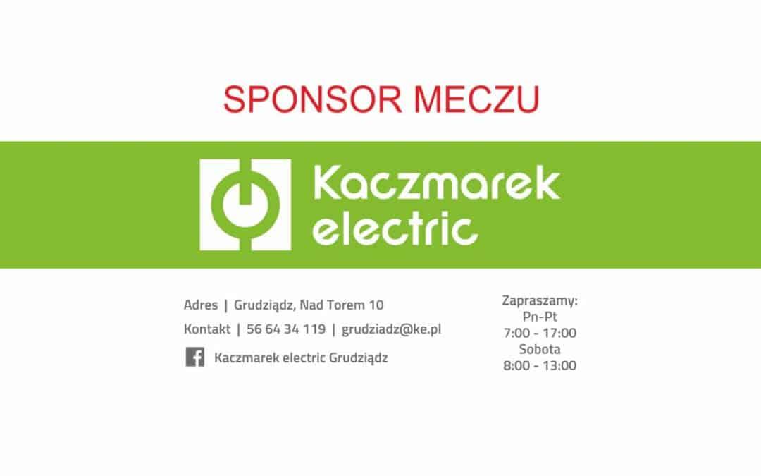 Kaczmarek Electric sponsorem meczu z Wartą Poznań!