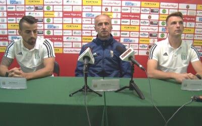 Konferencja prasowa przed meczem z Puszczą Niepołomice (VIDEO)
