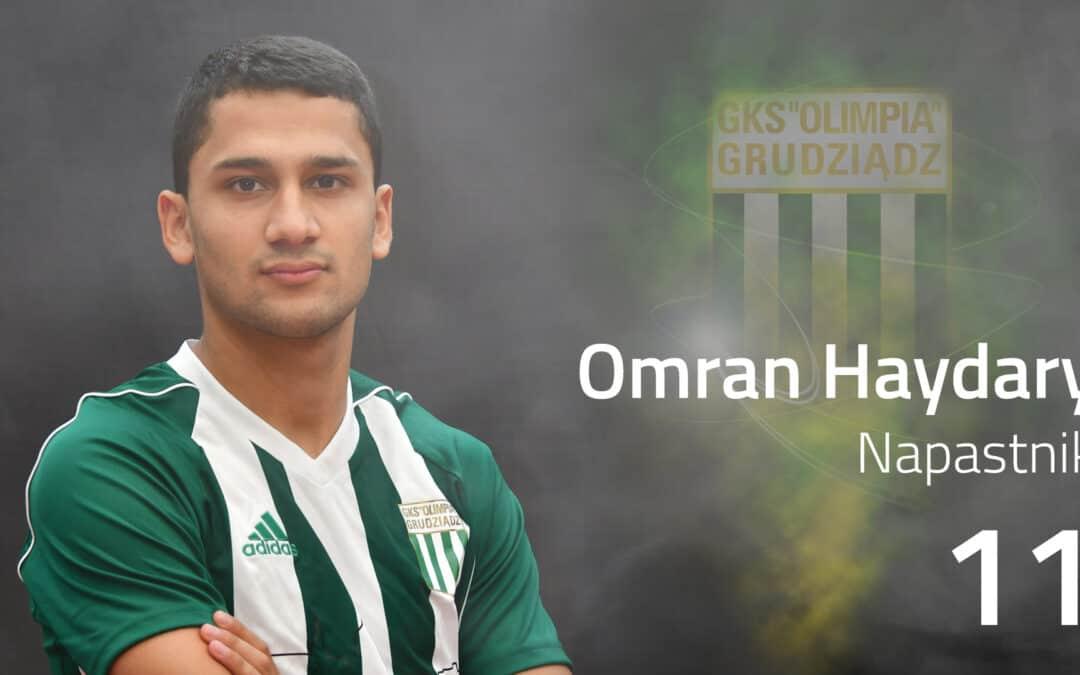 Czy Omran Haydary zostanie w Olimpii Grudziądz? (VIDEO)