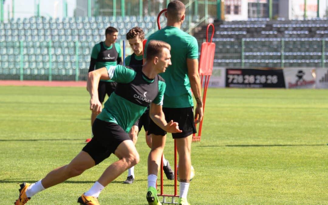 Trening przed meczem z Miedzią Legnica (VIDEO, FOTO)