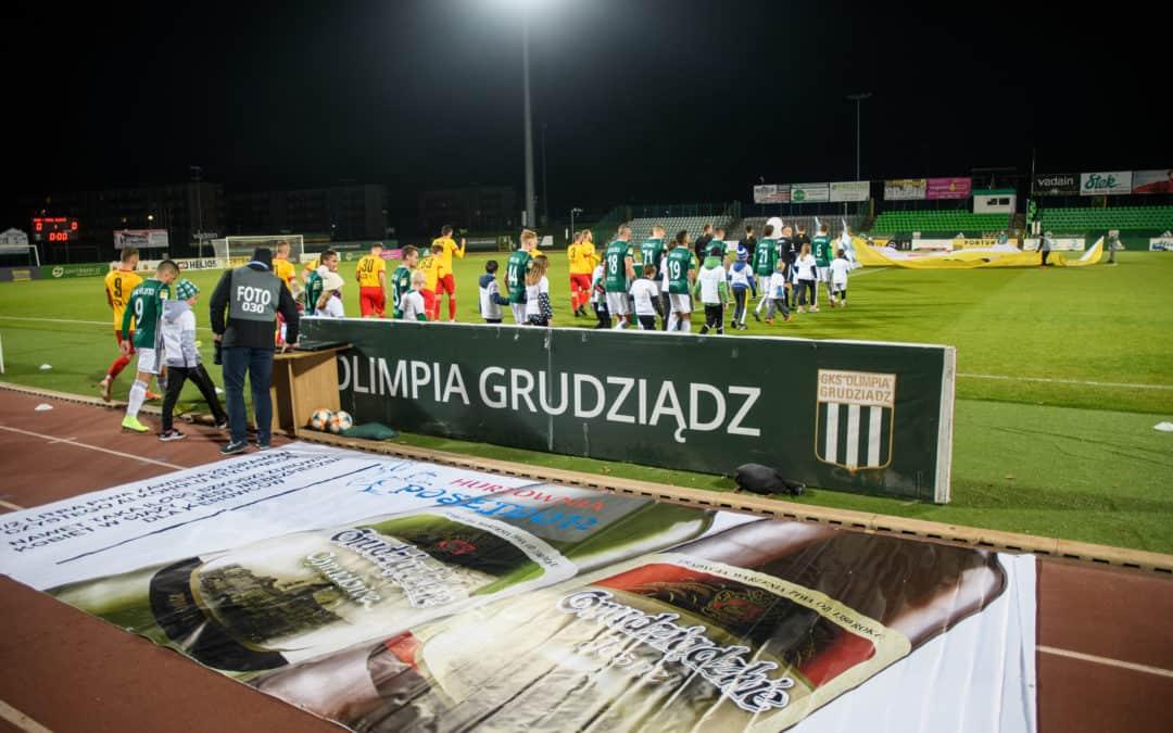 """Hurtownia """"Posejdon"""" była sponsorem meczu ze Stomilem"""