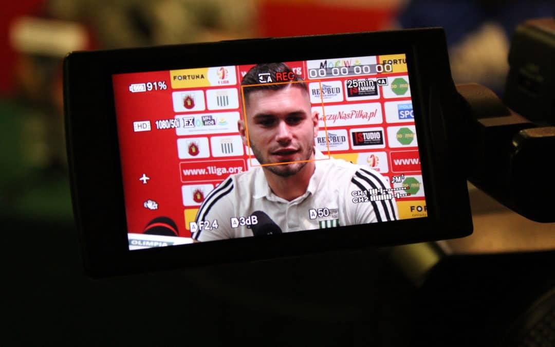 Konferencja prasowa przed meczem Sandecja – Olimpia (VIDEO)
