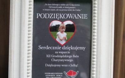 Wsparliśmy Grudziądzki Bal Charytatywny!