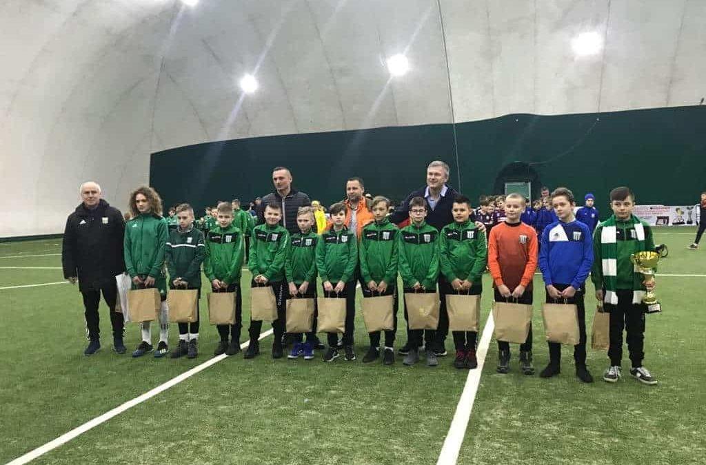 Młodzi piłkarze na międzynarodowym graniu!