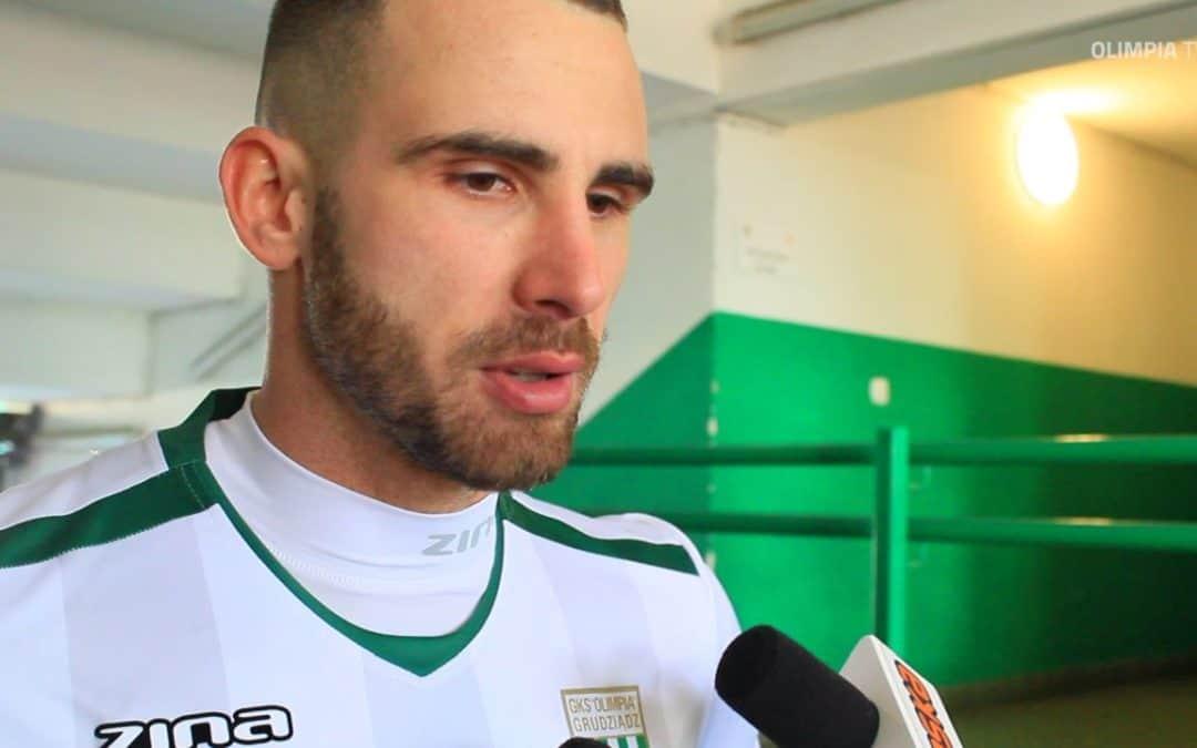 Lukas Duriska po meczu ze Stalą Mielec (VIDEO)