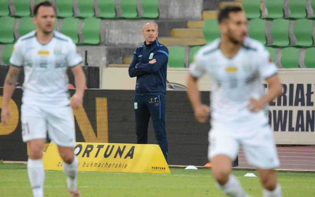 Trener Jacek Trzeciak o Marcinie Groliku (VIDEO)