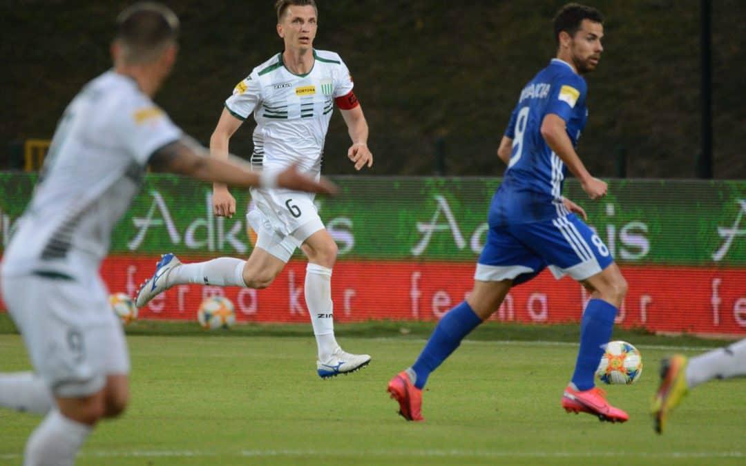 Ariel Wawszczyk po meczu z Miedzią Legnica (VIDEO)
