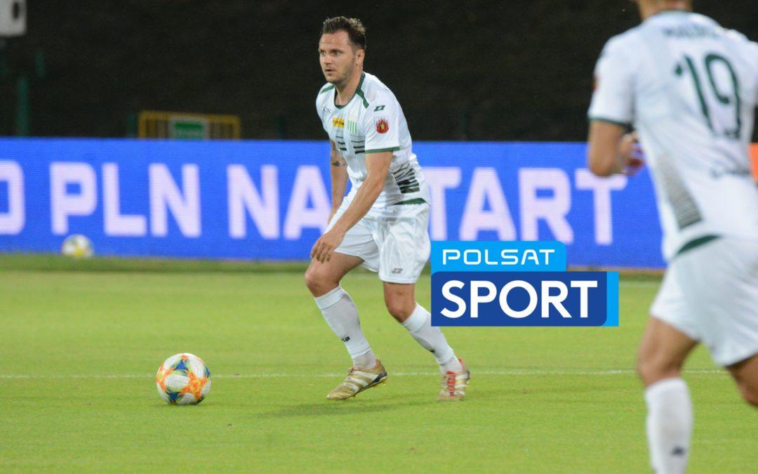 Mecz ze Stomilem w Polsacie Sport!