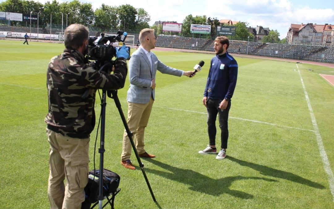 Polsat NEWS ze stadionu Olimpii!