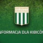 Godziny otwarcia Sklepu Kibica w dniu meczu – poniedziałek ZAMKNIĘTE!