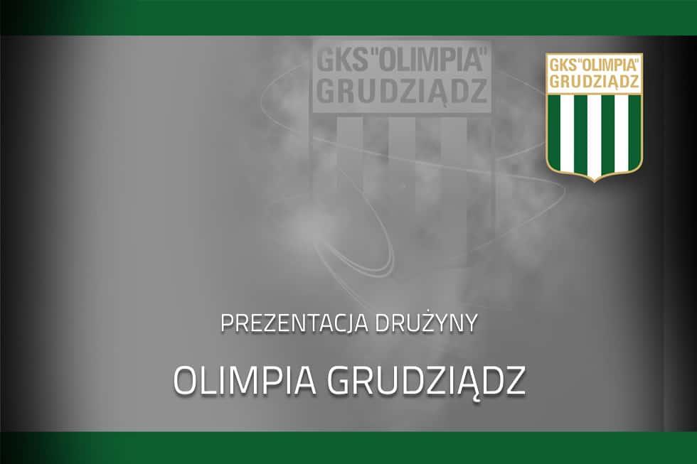 Prezentacja drużyny Olimpii Grudziądz na rundę jesienną 2020.