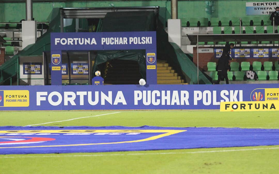 1/16 Fortuna Puchar Polski: Olimpia – Lechia w obiektywie. [FOTORELACJA]