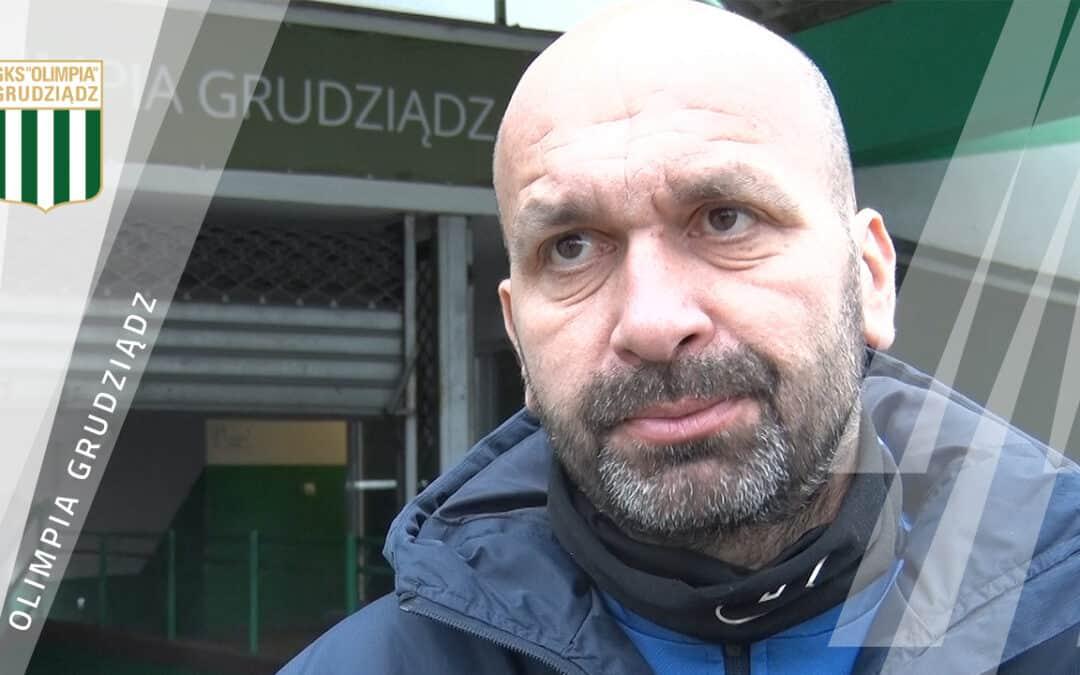 """""""Skupiamy się na sobie"""" – Trener Paweł Cretti przed meczem z Garbarnią."""