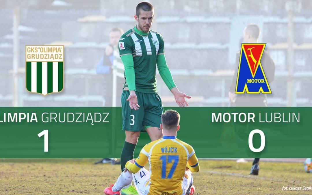 Skrót meczu Olimpia Grudziądz – Motor Lublin 1:0 [VIDEO]