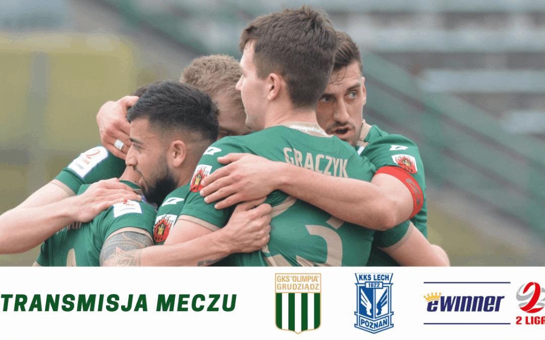Transmisja meczu z Lechem II Poznań