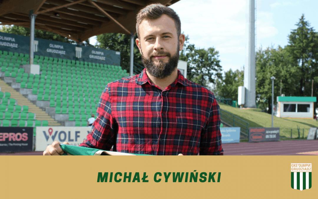 Michał Cywiński dołącza do Olimpii.
