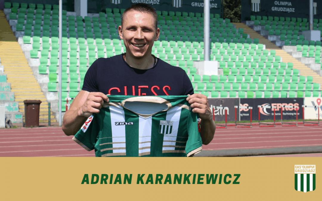Adrian Karankiewicz dołącza do Olimpii.