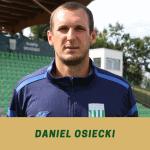 Daniel Osiecki trenerem bramkarzy.