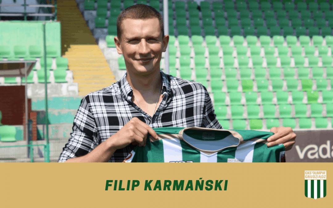 Filip Karmański w Olimpii.