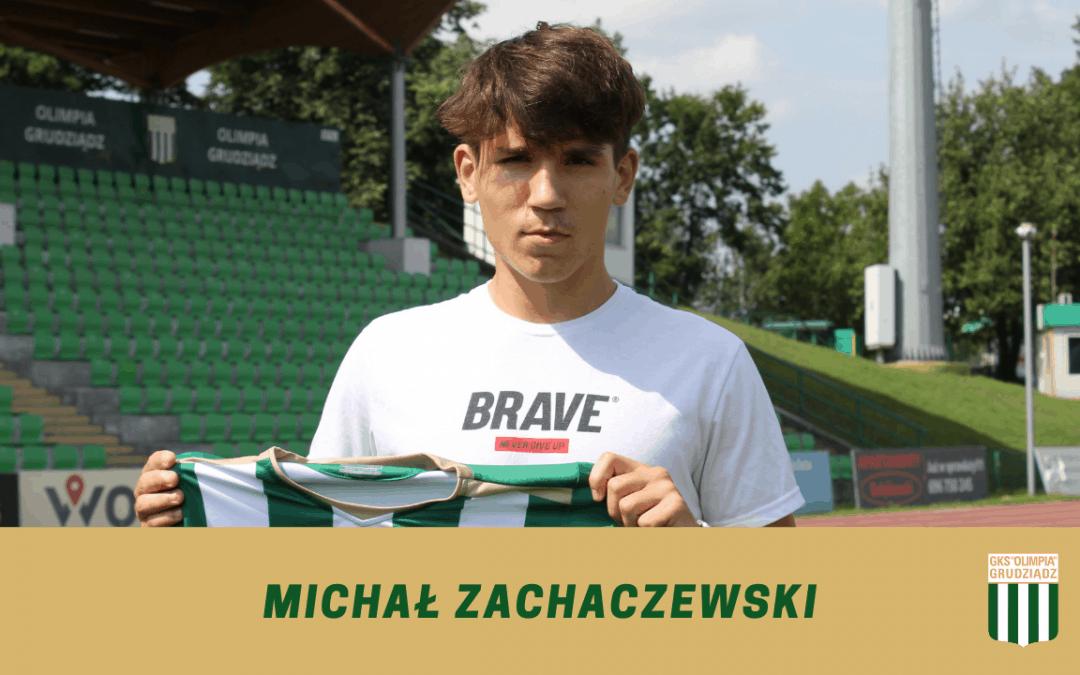 Michał Zachaczewski w Olimpii.