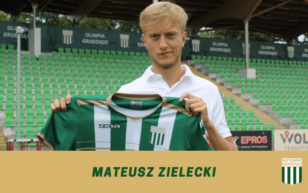 Mateusz Zielecki dołącza do Olimpii.